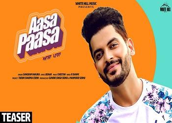 Aasa Paasa punjabi Lyrics - Sangram Hanjra - Lyricsdon