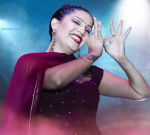 Sulfa Lyrics - Sapna Choudhary