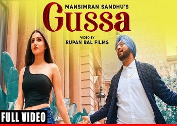 Gussa Lyrics Mansimran Sandhu