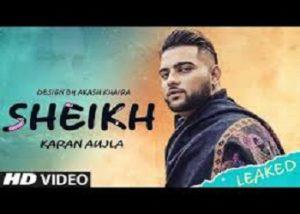 Sheikh Lyrics Karan Aujla