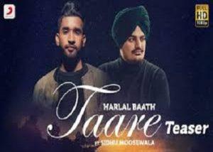 Taare Harlal Lyrics Batth & Sidhu Moose Wala