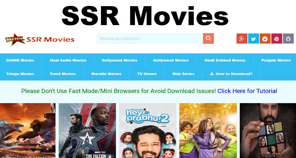SSR Movies 2021